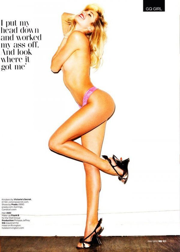 Candice Swanepoel - GQ May 2012 UK