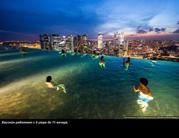 Отель Marina Bay Sands