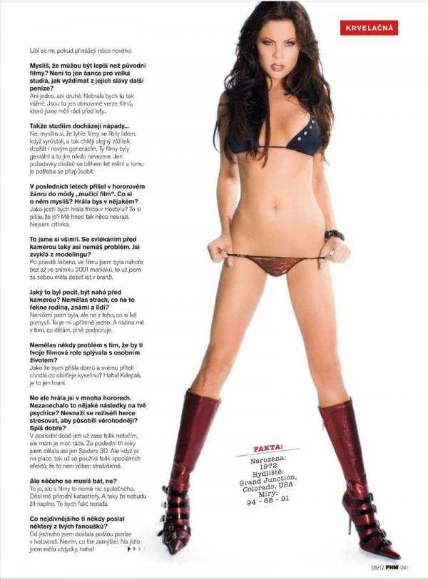 Christa Campbell - FHM May 2012 Czech