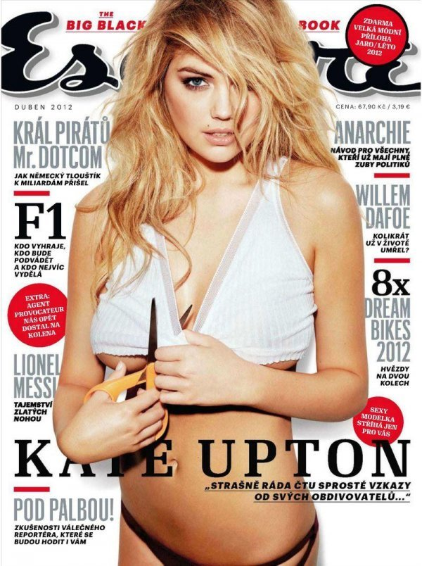 Kate Upton - Esquire April 2012 Czech