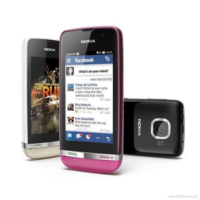 Сенсорные телефоны asha 305 306 и 311