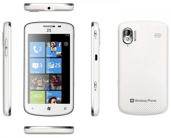 Мощный Windows Phone ZTE Tania