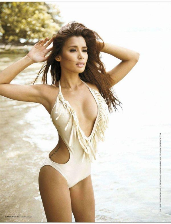 Michelle Madrigal - FHM April 2012 Philippines
