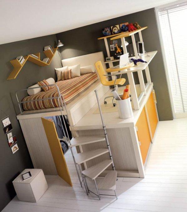 Как сделать компактной комнату
