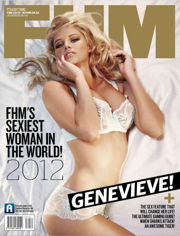 Genevieve Morton - FHM July 2012 Africa