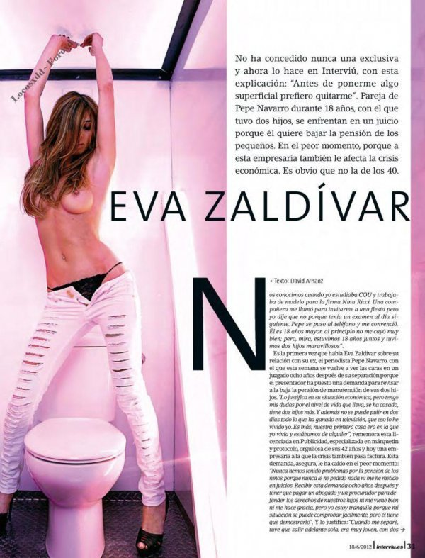 Eva Zaldivar - Interviu June 2012 Spain