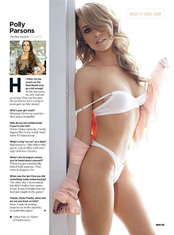 Polly Parsons - Nuts June 2012 (6-2012d) UK