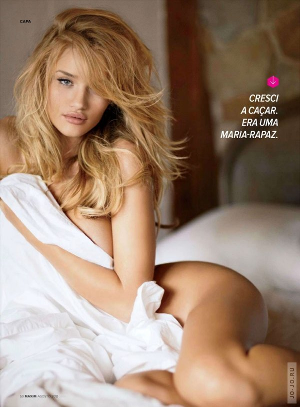 Rosie Huntington Whiteley @ Maxim, Portugal, August 2012