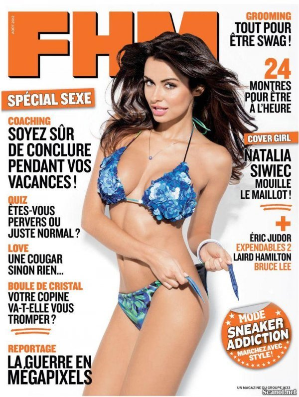 Natalia Siwiec - FHM August 2012 France