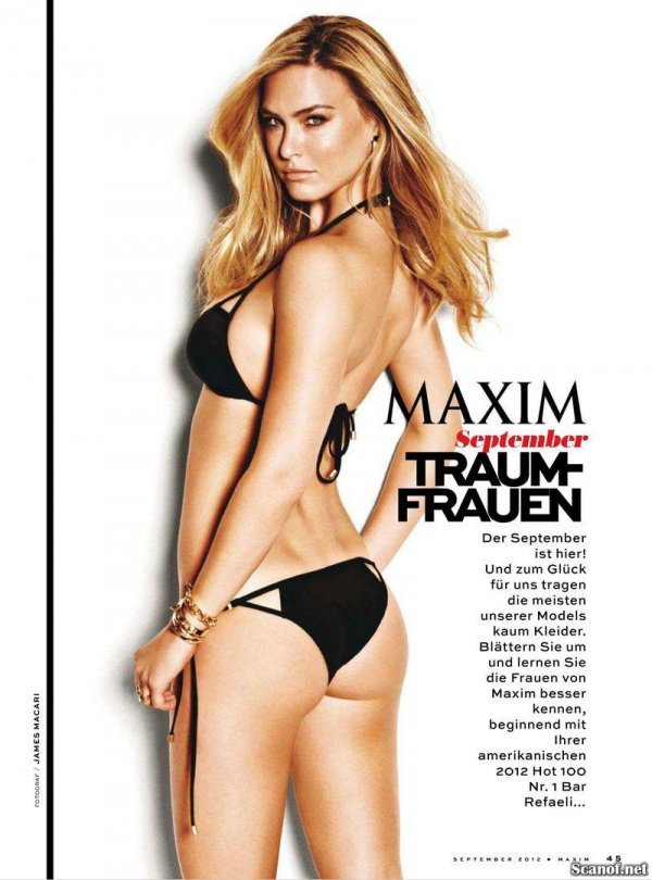 Bar Rafaeli - Maxim September 2012 Switzerland