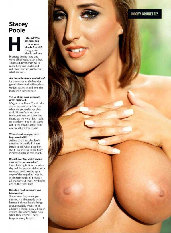 Lucy Pinder, Holly Peers, Kelly Hall - Nuts September 2012 UK