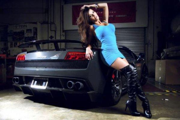 фотосессия авто секси