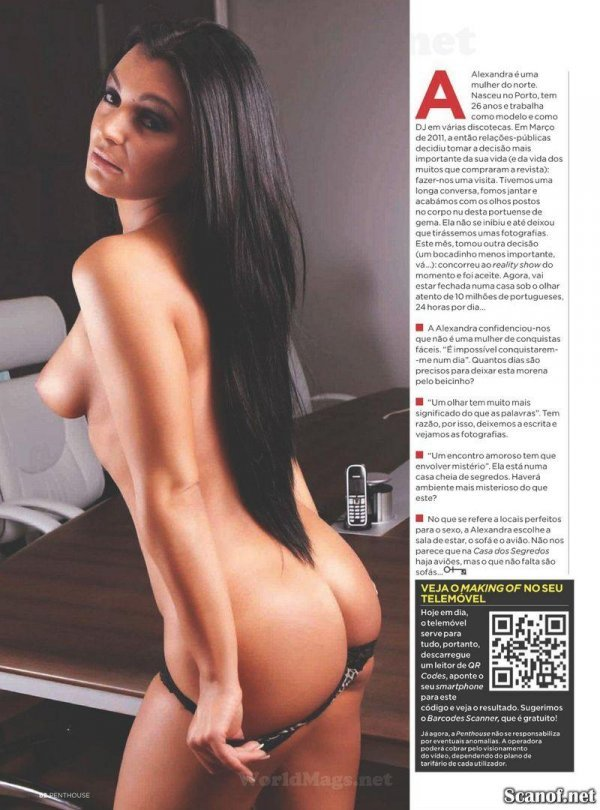 Alexandra Firreira - Penthouse October 2012 Portugal
