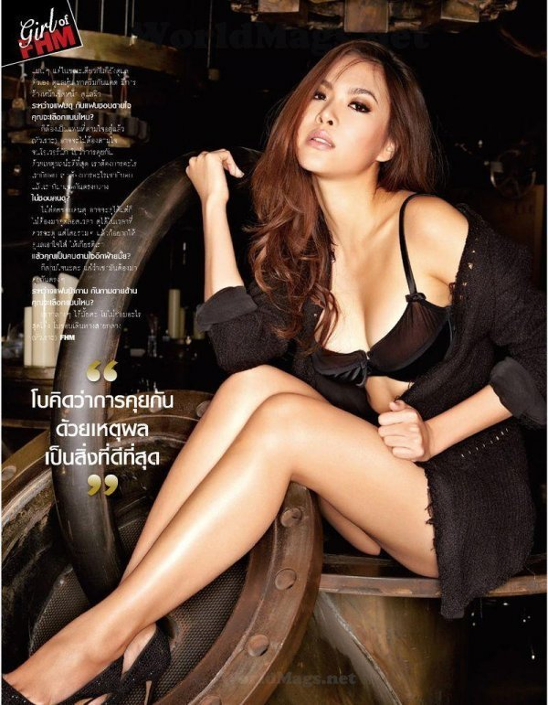 Bowie Atthama - FHM October 2012 Thailand
