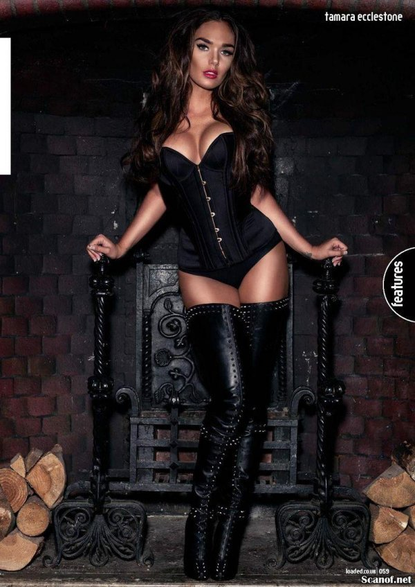Tamara Ecclestone - Loaded December 2012 UK