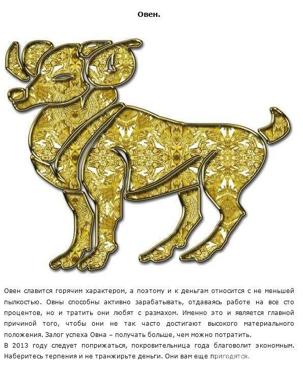 Финансовый гороскоп с юмором