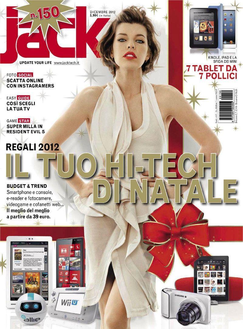 Milla Jovovich - Jack December 2012 Italy » Jo-jo * Твоё ... милла йовович фильмы