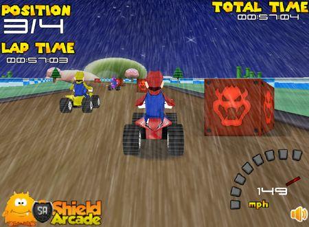 скачать игру гонки марио - фото 7