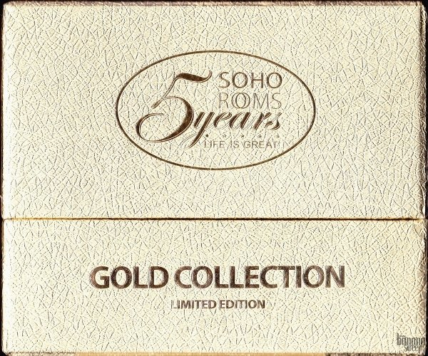 SOHO ROOMS: 5 YEARS. GOLD COLLECTION 4CD