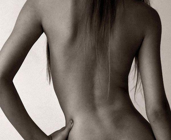 фото женского тела сзади