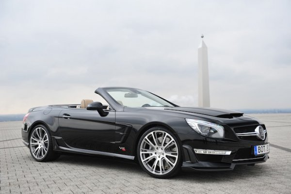 Brabus перезарядил Mercedes-Benz SL 65 AMG - 800 Roadster