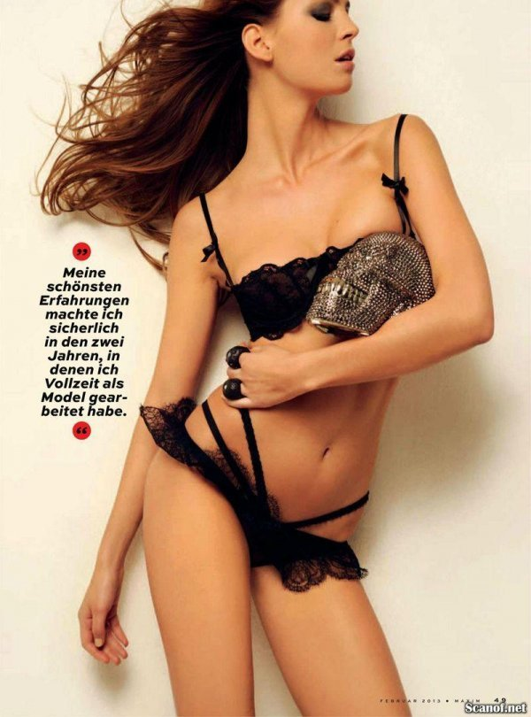 Nina Maria Ardizzone - Maxim February-March 2013 Switzerland