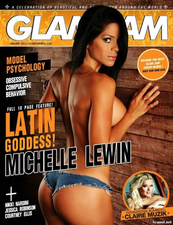 Michelle Lewin - Glam Jam January 2013 USA