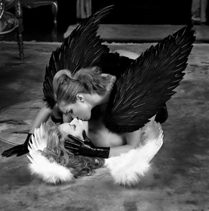 Прикольные картинки ангелов 7