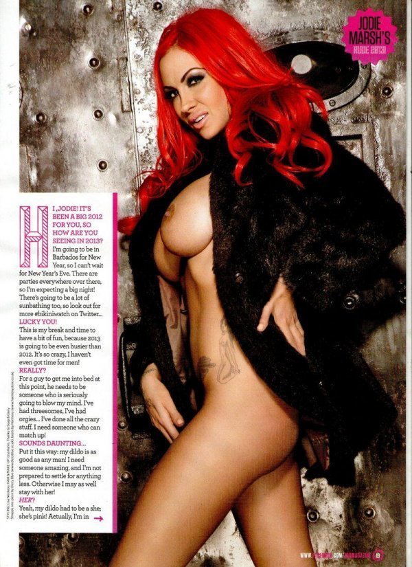 Jodie Marsh - ZOO December 2012 UK
