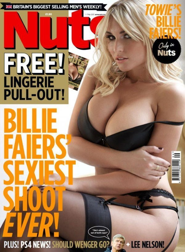 Billie Faiers - Nuts March 2013 UK