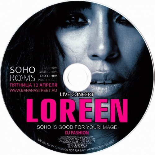 SOHO ROOMS: Live Concert Loreen — mixed by dj Fashion