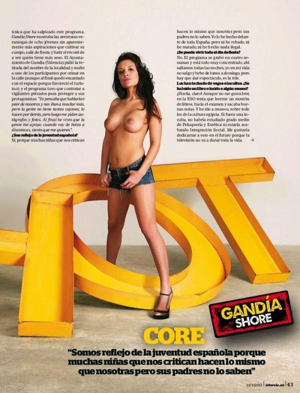 Cristina Serrano - Interviu March 2013 Spain