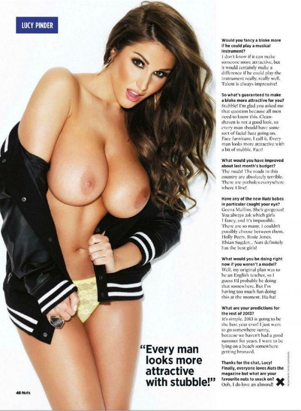Lucy Pinder - Nuts April 2013 UK
