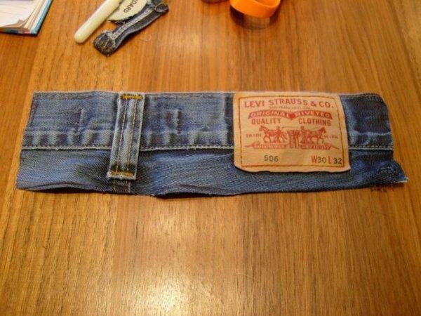 Чехол для мобильного из джинса