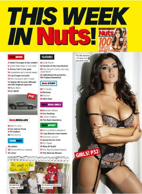 India Reynolds - Nuts May 2013 UK