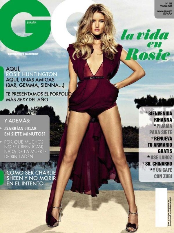 Rosie Huntington Whiteley - GQ May 2013 Spain