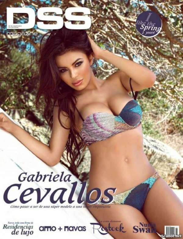 Gabriela Cevallos - DSS Magazine May 2013 Spain