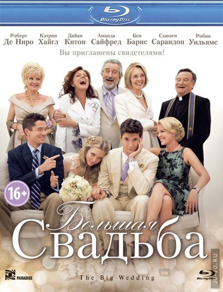 ������� ������� / The Big Wedding (2013) HDRip