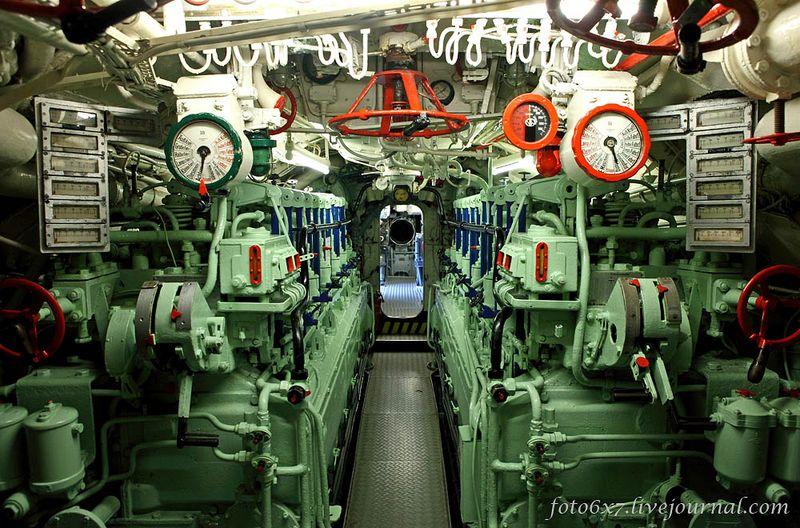 подводная лодка внутри фото