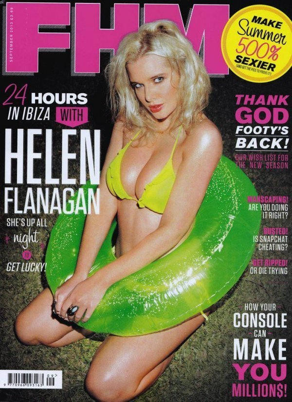 Helen Flanagan - FHM September 2013 UK
