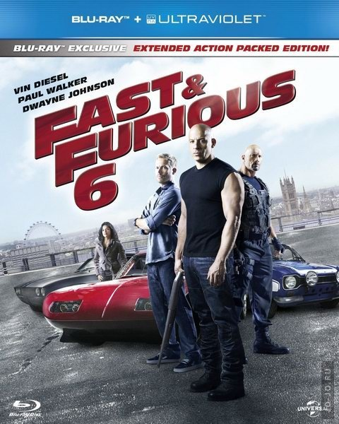 ������ 6 / Fast & Furious 6 [EXTENDED] (2013) HDRip