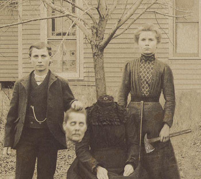 старинные фотографии людей.