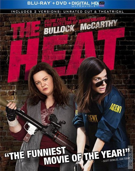 ���� � ����� / The Heat [UNRATED] (2013) HDRip