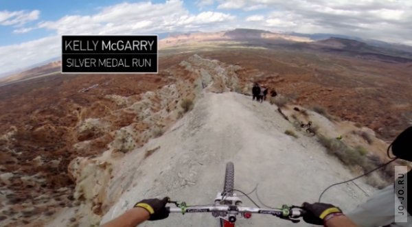 Backflip Over 72ft Canyon - Kelly McGarry