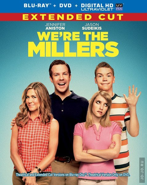 Мы – Миллеры / We're the Millers [EXTENDED] (2013) HDRip