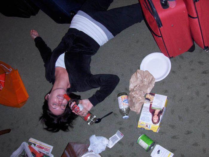 Русские пьяные студенты