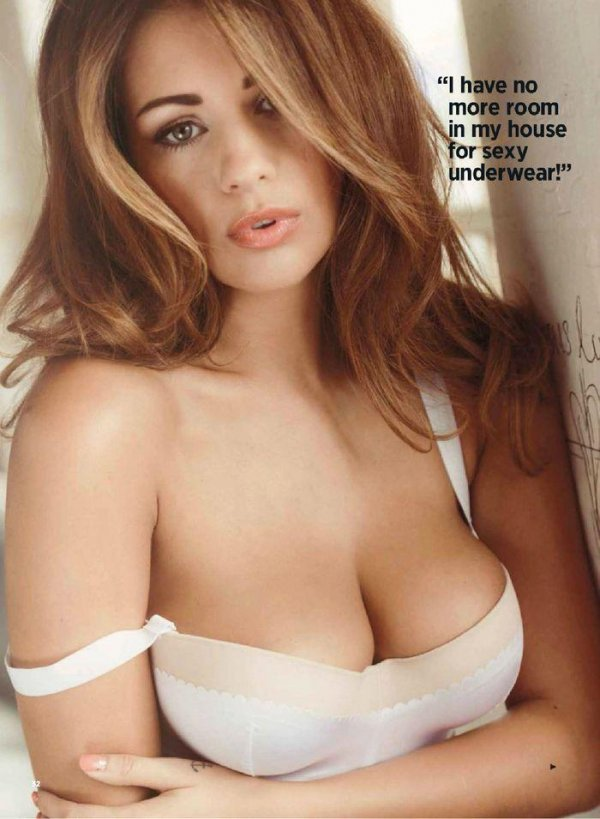 Sexiest Brunettes - Nuts October 2013 UK
