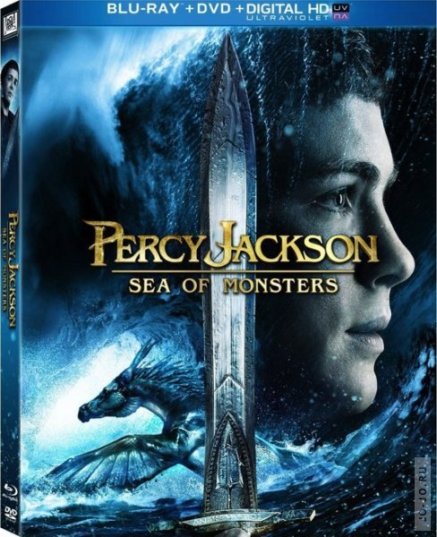 ����� ������� � ���� ������� / Percy Jackson: Sea of Monsters (2013) HDRip