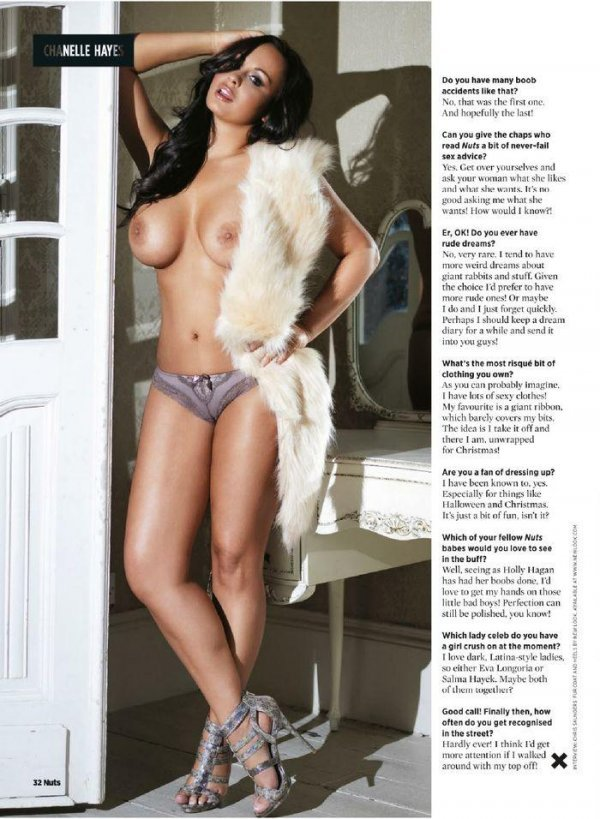 Chanelle Hayes - Nuts 01November 2013 UK