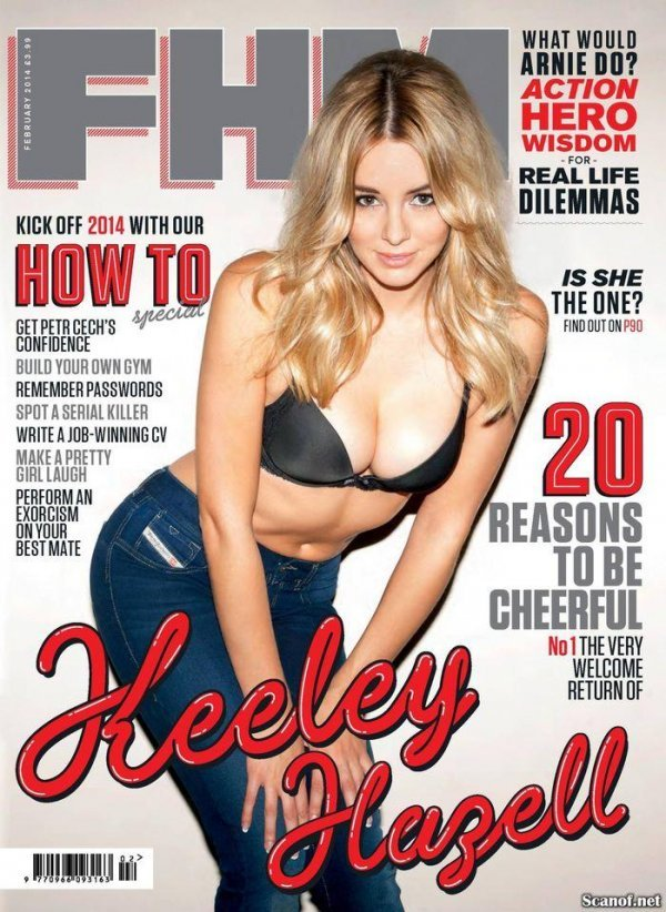 Keeley Hazell - FHM February 2014 UK